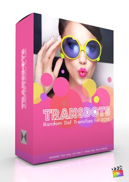 Final Cut Pro X Plugin TransDots from Pixel Film Studios
