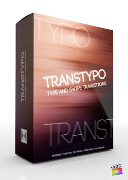 Final Cut Pro X Plugin TransTypo from Pixel Film Studios