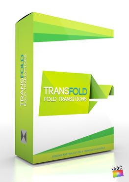 Final Cut Pro X Plugin TransFold from Pixel Film Studios