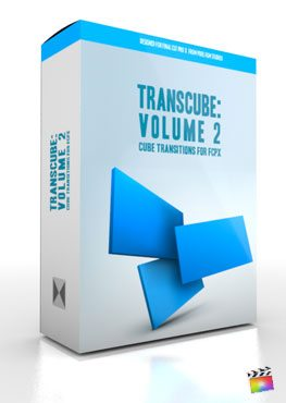 Final Cut Pro X Plugin TransCube Volume 2 from Pixel Film Studios
