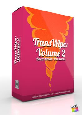 Final Cut Pro X Plugin TransWipe Volume 2 from Pixel Film Studios