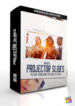 Final Cut Pro X Plugin TransPic Projector Slides from Pixel Film Studios