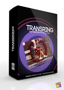 Final Cut Pro X Plugin TransRing from Pixel Film Studios