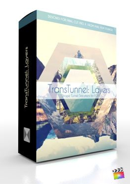 Final Cut Pro X Plugin TransTunnel Layers from Pixel Film Studios