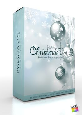 Final Cut Pro X Plugin ProDrop Christmas Volume 2 from Pixel Film Studios