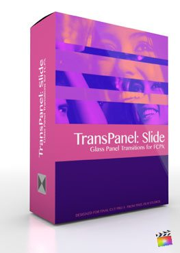 Final Cut Pro X Plugin TransPanel Slide from Pixel Film Studios