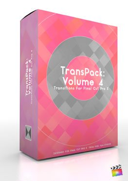 Final Cut Pro X Plugin TransPack Volume 4 from Pixel Film Studios