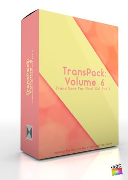 Final Cut Pro X Plugin TransPack Volume 6 from Pixel Film Studios from Pixel Film Studios