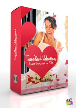 Final Cut Pro X Plugin TransPack Valentines from Pixel Film Studios