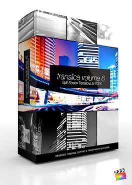 Final Cut Pro X Plugin TranSlice Volume 6 from Pixel Film Studios