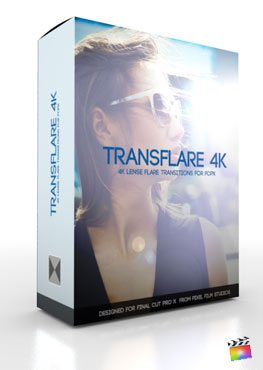 Final Cut Pro X Plugin TransFlare 4K from pixel Film Studios