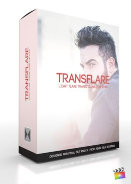 Final Cut Pro X Plugin TransFlare from Pixel Film Studios