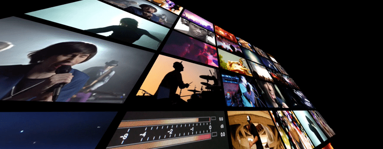 Professional - Video Wall Transition - for Final Cut Pro X