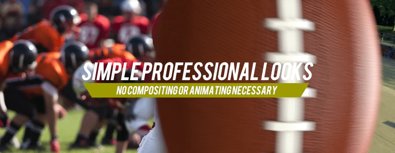 Professional - Sports Transition - for Final Cut Pro X