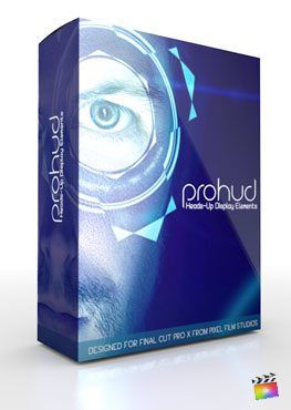 Final Cut Pro X Plugin ProHUD from Pixel Film Studios