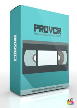 Final Cut Pro X Plugin ProVCR from Pixel Film Studios