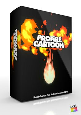Final Cut Pro X Plugin ProFire Cartoon from Pixel Film Studios