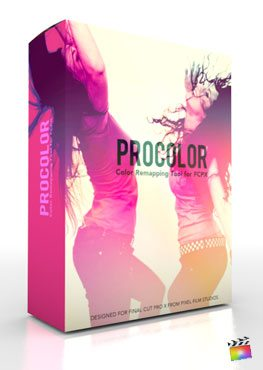 Final Cut Pro X Plugin ProColor from Pixel Film Studios