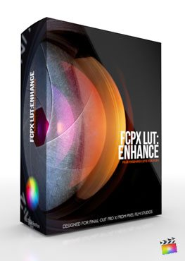 Final Cut Pro X Plugin FCPX LUT Enhance from Pixel Film Studios