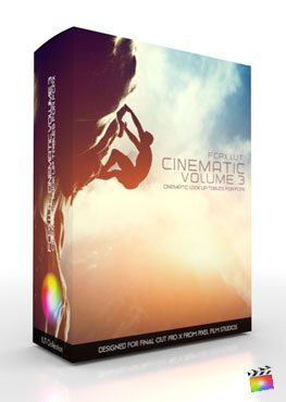 FCPX LUT Cinematic Volume 3