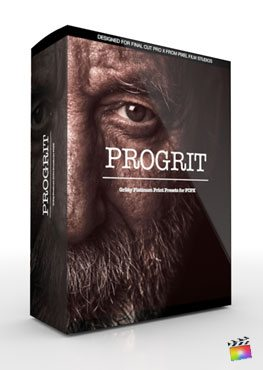 Final Cut Pro X Plugin ProGrit from Pixel Film Studios