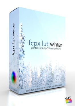 Final Cut Pro X Plugin FCPX LUT Winter from Pixel Film Studios