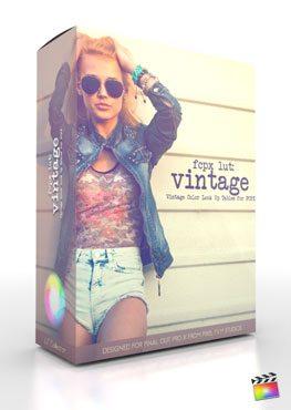FCPX LUT Vintage