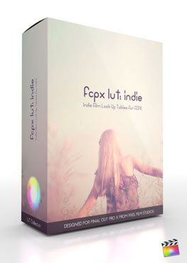 Final Cut Pro X Plugin FCPX LUT Indie from Pixel Film Studios