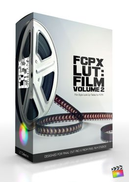 FCPX LUT Film Vol 2