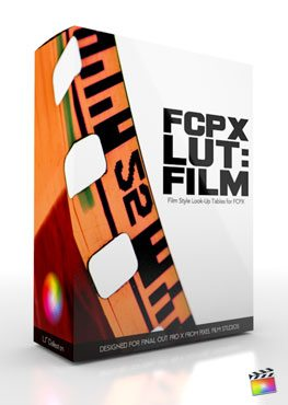 Final Cut Pro X Plugin FCPX LUT Film from Pixel Film Studios
