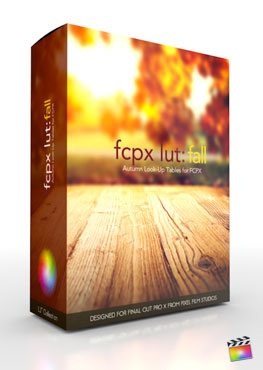 Final Cut Pro X Plugin FCPX LUT Fall from Pixel Film Studios