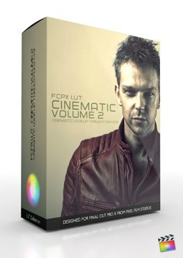 FCPX LUT Cinematic Volume 2 Final Cut Pro X Plugin from Pixel Film Studios