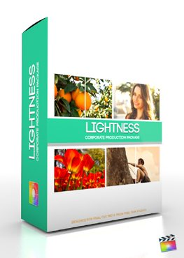 Final Cut Pro X Plugin Production Package Lightness from Pixel Film Studios