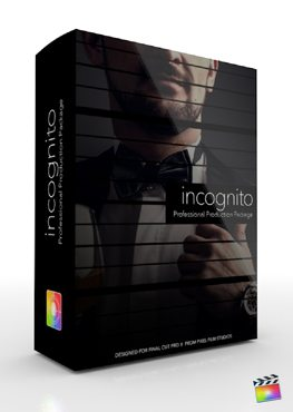 Final Cut Pro X Plugin Production Package Incognito from Pixel Film Studios