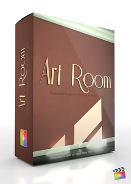 Final Cut Pro X Plugin Production Package Art Room from Pixel Film Studios