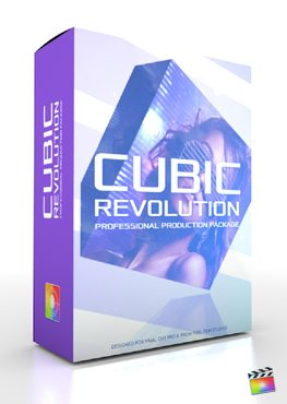 Final Cut Pro X Plugin Production Package Cubic Revolution from Pixel Film Studios