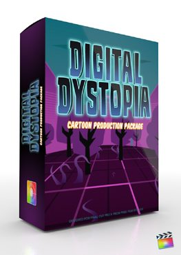 Final Cut Pro X Plugin Production Package Digital Dystopia from Pixel Film Studios