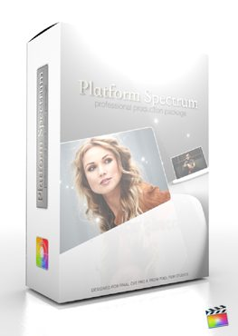Final Cut Pro X Plugin Production Package Platform Spectrum from Pixel Film Studios
