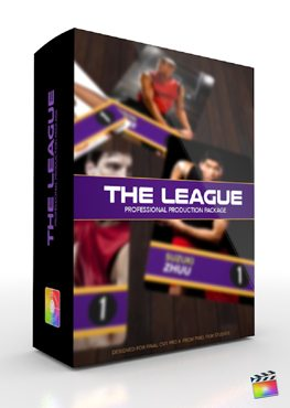 Final Cut Pro X Plugin Production Package The League from Pixel Film Studios