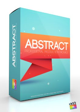 Final Cut Pro X Plugin Production Package Abstract from Pixel Film Studios