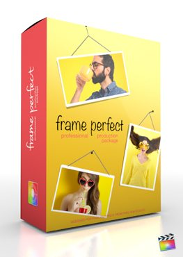 Final Cut Pro X Plugin Production Package Frame Perfect from Pixel Film Studios