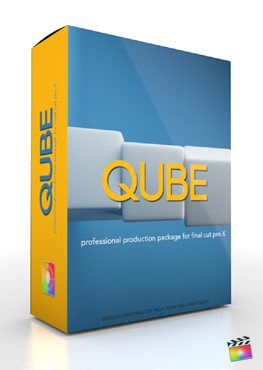Final Cut Pro X Plugin Production Package Qube from Pixel Film Studios