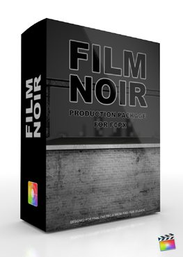 Final Cut Pro X Plugin Production Package Film Noir from Pixel Film Studios