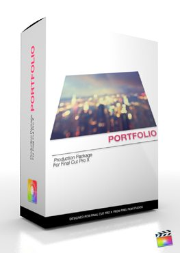 Final Cut Pro X Plugin Production Package Portfolio from Pixel Film Studios