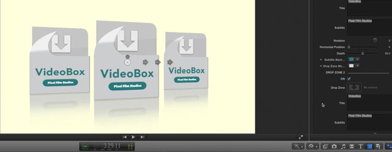 Final Cut Pro X - Themes - Video Box