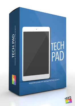 Final Cut Pro X Plugin Production Package Tech Pad from Pixel Film Studios