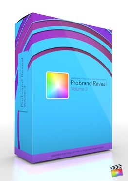Final Cut Pro X Plugin ProBrand Reveal Volume 3 from Pixel Film Studios