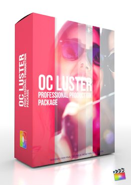 Final Cut Pro X Plugin Production Package OC Luster from Pixel Film Studios