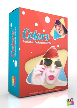 Final Cut Pro X Plugin Production Colors from Pixel Film Studios