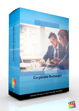 Final Cut Pro X Plugin Production Corporate Rectangle from Pixel Film Studios